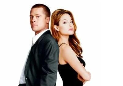Анджелина Джоли и Бред Питт, влюбились на съемках