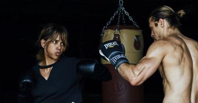 Холли Берри, бокс
