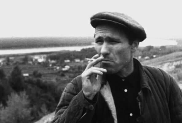 Актер Василий Шукшин