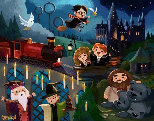Стивен Спилберг хотел экранизировать Гарри Поттера в мультфильме