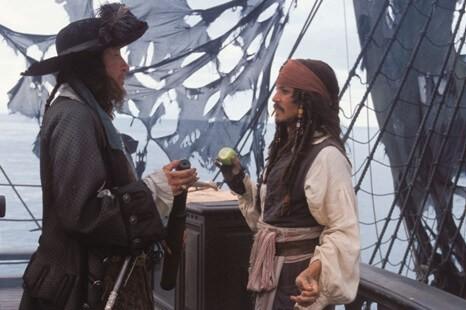 Фильм Пираты Карибского моря Проклятие Чёрной жемчужины (2003 год)