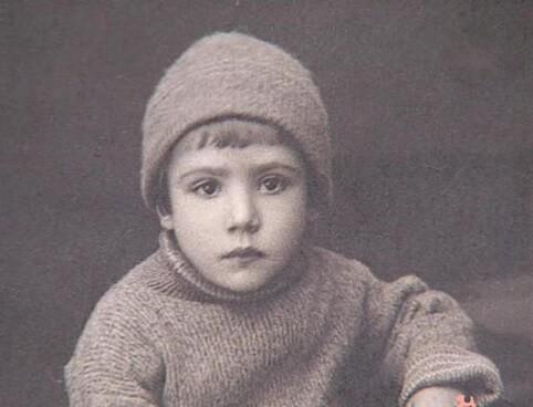 Юрий Никулин, фото в детстве