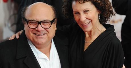 Реа Перлман с супругом