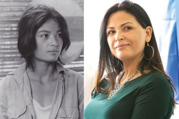 Эльпидия Каррильо тогда и сейчас