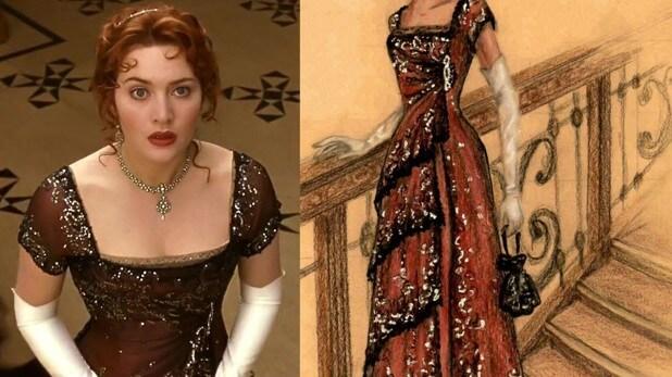 Актриса Кейт Уинслет и ее платье