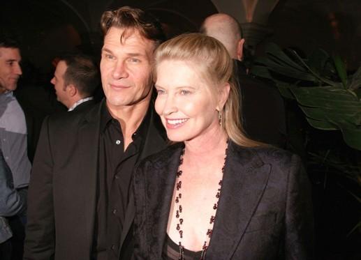 Патрик Суэйзи с супругой
