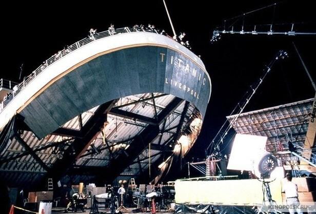 Съемки Титаника