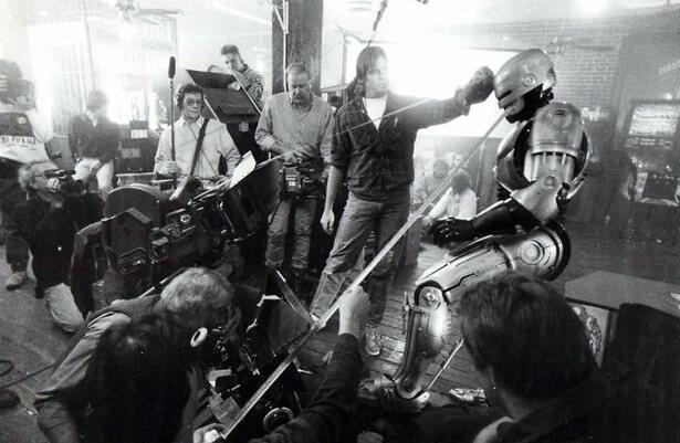Питер Уэллер на съемочной площадке