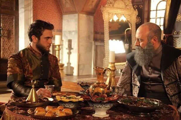 Съемки сериала Великолепный век