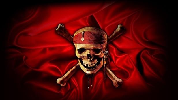 Настоящий флаг пиратов