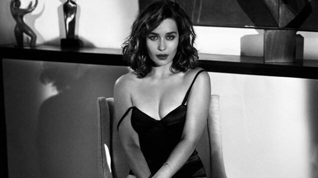 Журнал Askmen и Esquire назвал Эмилию Кларк самой сексуальной женщиной
