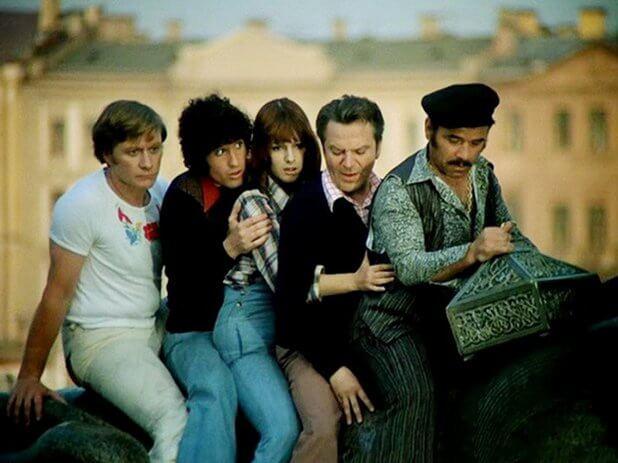 Фильм Невероятные приключения итальянцев в России (1973 год)