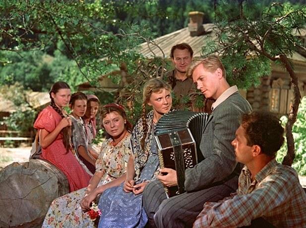 Фильм Опасные тропы (1954 год)
