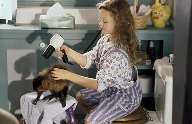 Фильм Неприятности с обезьянкой (1994 год)