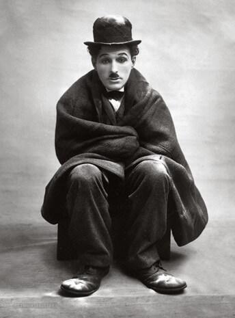 Актер Чарли Чаплин