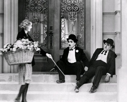 Фильм Огни большого города (1931 год)