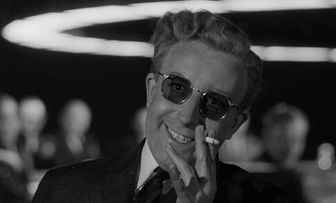 Фильм Доктор Стрейнджлав, или Как я научился не волноваться и полюбил атомную бомбу (1964 год)